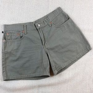"Ralph Lauren 5"" Five Pocket Shorts Olive Green"